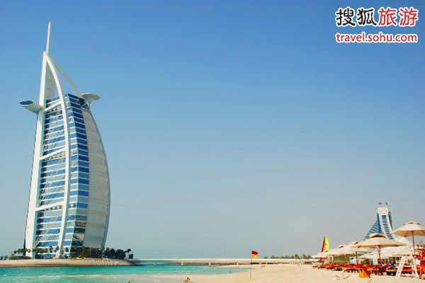 美丽的帆船酒店 依然成为迪拜的地标性建筑 图片